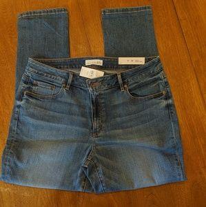 LOFT curvey skinny crop jeans